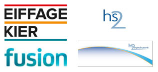 HS2 funder logos